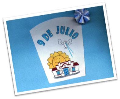 9 de julio d a de la independencia colegio general for Decoracion 9 de julio primaria